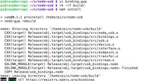 node-usb done